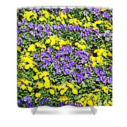 Garden Design Shower Curtain