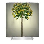 Garden Flowers 2 Shower Curtain