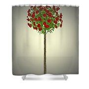 Garden Flowers 4 Shower Curtain