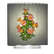 Garden Flowers 6 Shower Curtain