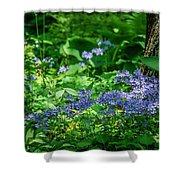 Garden Flox Shower Curtain