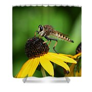 Garden Fly Shower Curtain