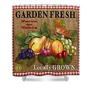 Garden Fresh-jp2386 Shower Curtain