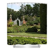 Garden Gate Governers Palace Shower Curtain