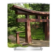 Garden Gateway Shower Curtain