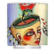 Garden Head Shower Curtain