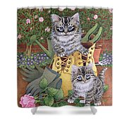 Garden Helpers  Shower Curtain