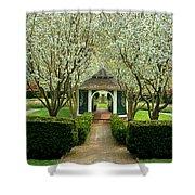 Garden In Full Bloom Shower Curtain
