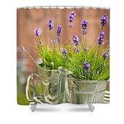 Garden Lavender Shower Curtain
