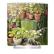 Garden Life Shower Curtain