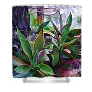 Garden Of Agave Shower Curtain