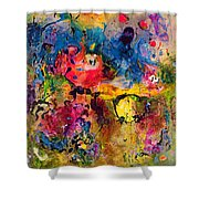 Garden Of Heavenly And Earthly Delights Shower Curtain