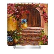 Garden Of Serenity Shower Curtain