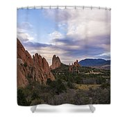 Garden Of The Gods At Sunrise - Colorado Springs Shower Curtain