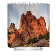 Garden Of The Gods Colorado Shower Curtain