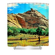 Garden Of The God's-colorado Shower Curtain
