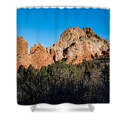 Garden Of The Gods Formation Shower Curtain