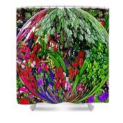 Garden Orb Shower Curtain