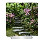 Garden Pathway Shower Curtain