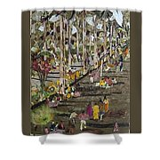 Garden Picnic Shower Curtain