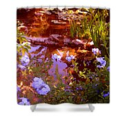 Garden Pond Shower Curtain