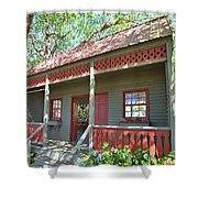 Garden Porch At Calloway Gardens Shower Curtain