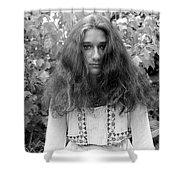 Garden Portrait 1979 Shower Curtain