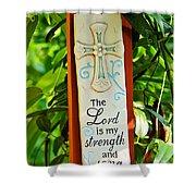 Garden Prayer Shower Curtain