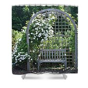 Garden Respite Shower Curtain