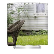 Garden Seat Shower Curtain