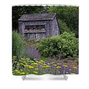 Garden Shed Shower Curtain