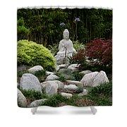 Garden Statue Shower Curtain