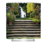 Garden Steps Shower Curtain