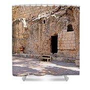 Garden Tomb Shower Curtain