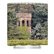 Garden Tower At Longwood Gardens - Delaware Shower Curtain