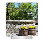 Garden View Series 09 Shower Curtain
