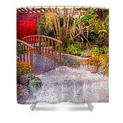 Garden View Series 25 Shower Curtain