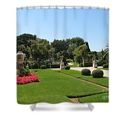 Garden Villa Ephrussi Shower Curtain