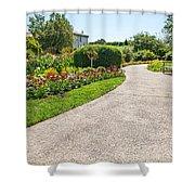 Garden Walkway Shower Curtain