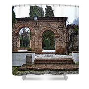 Gardens At The Cordova's Palace Shower Curtain