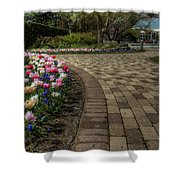 Gardens In The Park Shower Curtain