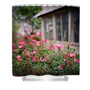 Gardens Of Pink Shower Curtain