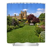 Gardens Of Sudeley Castle In The Cotswolds Shower Curtain
