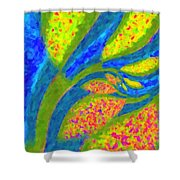 Gardens Of The Mind Shower Curtain