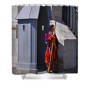 Gardes Suisses Shower Curtain