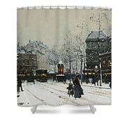Gare Du Nord Paris Shower Curtain