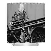 Gargoyles King's College Chapel Tower Shower Curtain