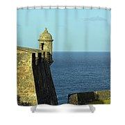 Garita Of San Christobal Shower Curtain
