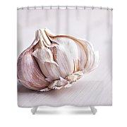 Garlic Bulb Shower Curtain