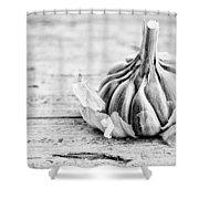 Garlic Shower Curtain